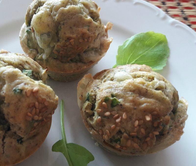 muffins fanes de radis-chèvre (1)