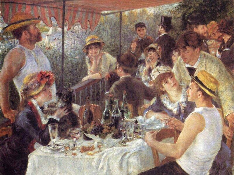 1881 - Le déjeuner des canotiers