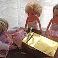 Noëlle livre ses derniers paquets......
