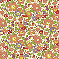 betsy pèche, coloris japonais