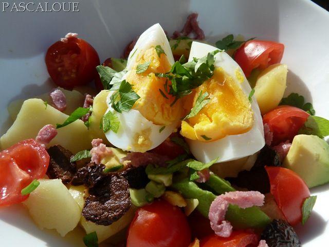 Salade d hiver la table de pascaloue - Variete de salade d hiver ...