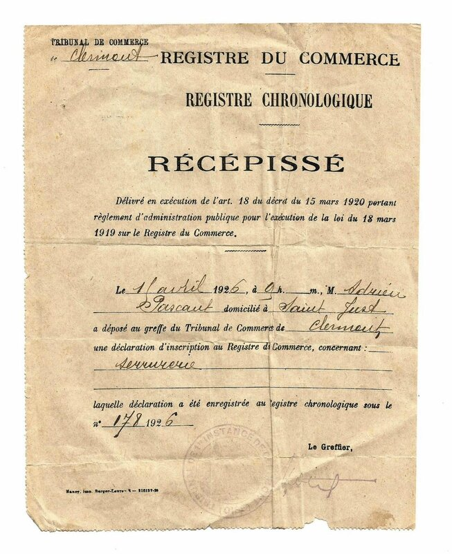registre du commerce