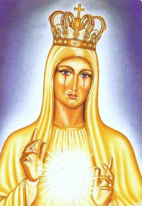 La Vierge de l'Eucharistie et de l'Onction Pérenne de Manduria