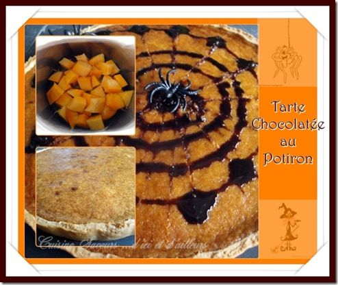 tarte chocopotiron
