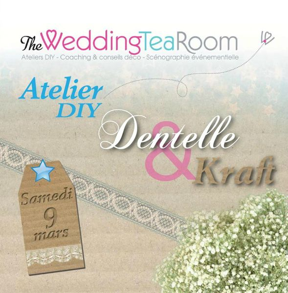 The Wedding Tea Room : DIY Atelier