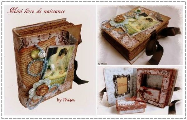 Mini livre niassance by Thisa