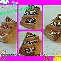 Petits cakes gourmands a la vanille