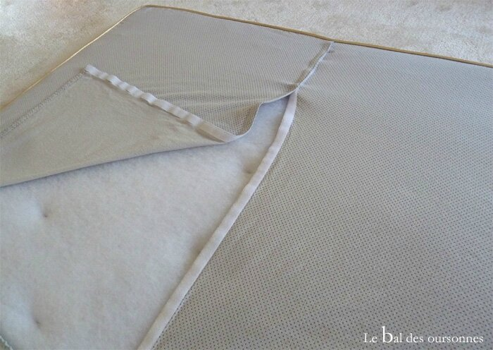 112 Blog Tête de lit DIY Tuto Hand Home Made Drap housse Molleton Déhoussable