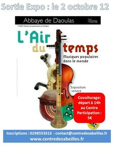affiche Sortie daoulas 2012
