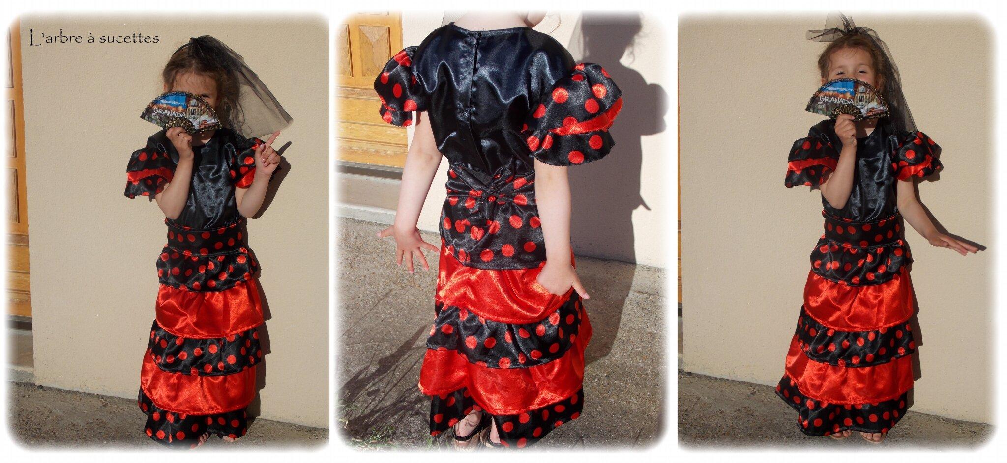 patron couture robe espagnole