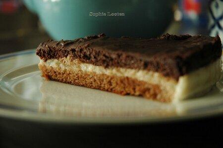 Bavarois poire chocolat2