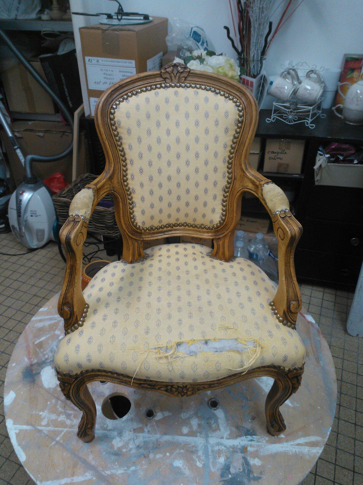 fauteuil louis xv mod le enfant kr ative d co. Black Bedroom Furniture Sets. Home Design Ideas