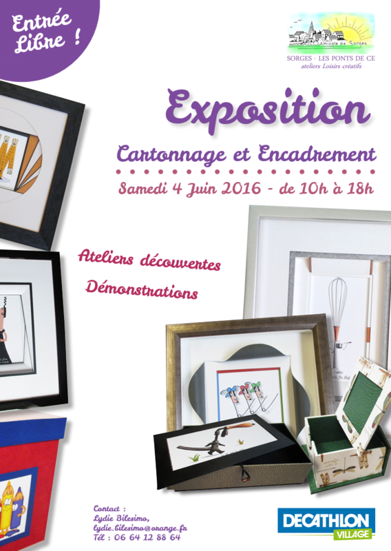 Affiche expo Sorges 2016