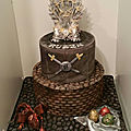 Gâteau game of thrones cake got