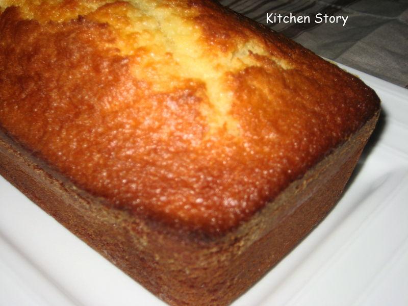 back to basics cake au yaourt rhum citron kitchen story. Black Bedroom Furniture Sets. Home Design Ideas