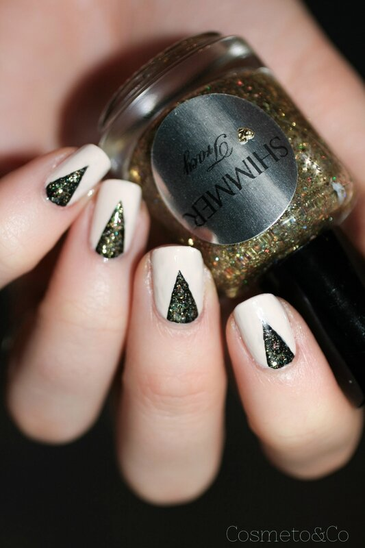nail art nouvel an shimmer polish tracy opi my vampire is buff a england camelot-6