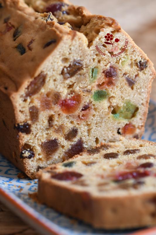 Cake aux fruits confits, allégé & moins sucré_3