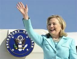 Hillary Clinton travelling secretary of state