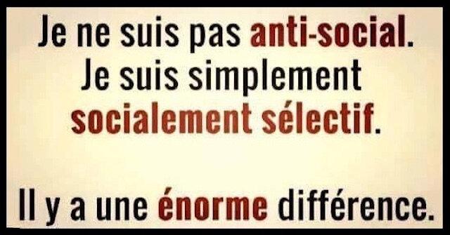 antisocial selectif