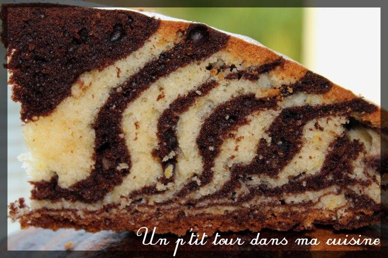 Gâteau zèbre2