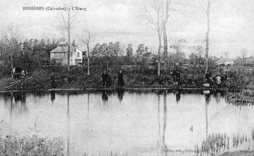 Bissières - les étangs