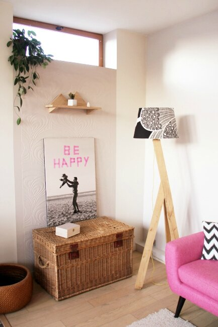 diy petite tag re murale en ch ne t te d 39 ange. Black Bedroom Furniture Sets. Home Design Ideas