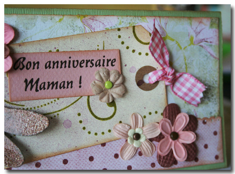 Top Carte d'anniversaire shabby - SCRAP O PHILE MP08