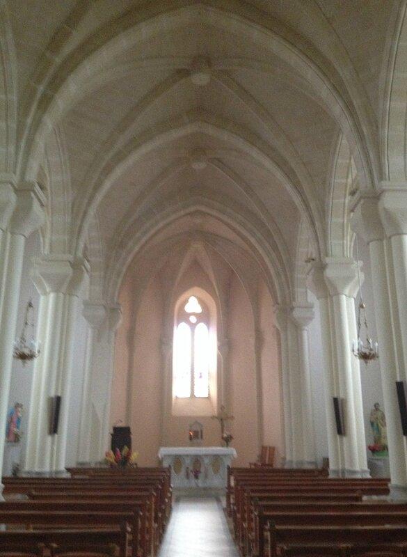 intérieur église labatie