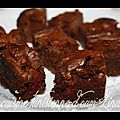 Brownies aux framboises