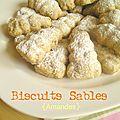 Biscuits lapin aux amandes