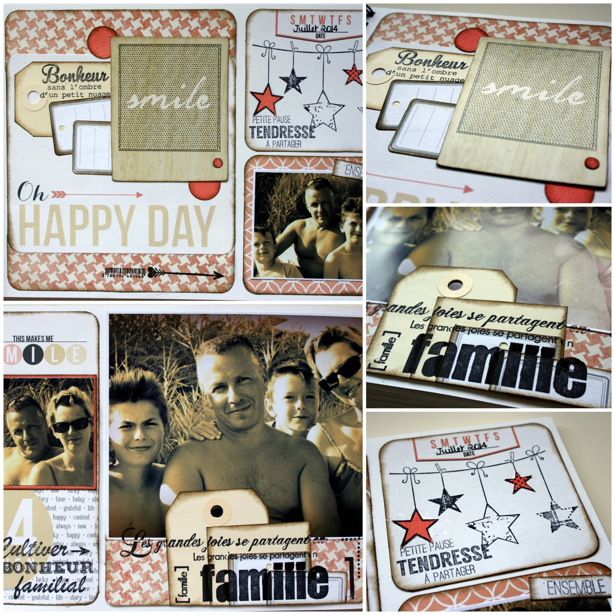 FAMILY DIARY .....Une petite page