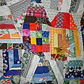 Artiste textile mon blog avec des chutes