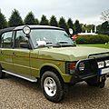 LAND ROVER Range Rover Jagdwagen Erich Honecker cabrio-landaulet carrossé par Rometsch 1985 Schwetzingen (1)