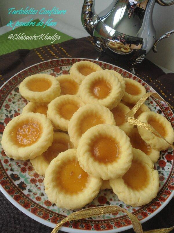 tartelettes confiture abricot