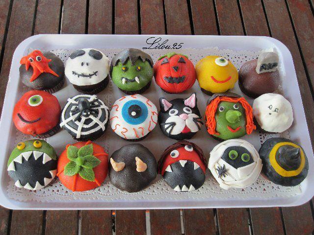 Muffins d 39 halloween g teaux en f te de lilou 25 - Recette de gateau d halloween ...