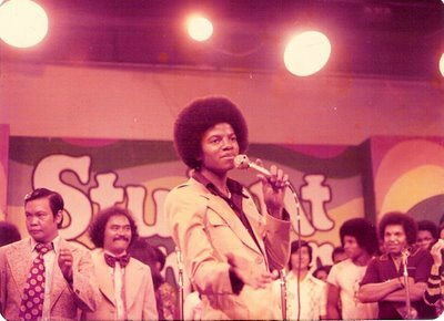 The Jackson 5 à Manille (Philippines) en février 1976