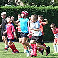 Saison 2011-2012, rentrée de l'école de rugby, 10 septembre