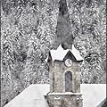 Clocher de St Jean de sixt 74450 le Grand Bornan