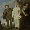 The j. paul getty museum announced today the acquisition of the italian comedians (ca. 1720) by jean-antoine watteau