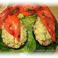 Avocats aux crevettes
