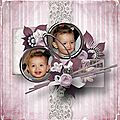 With all my heart - Kit by Ilonkas Scrapbook Designs