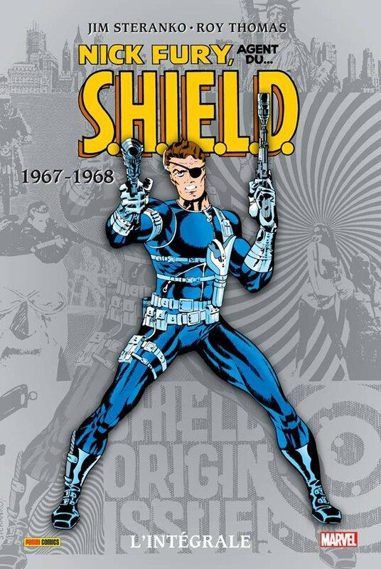 intégrale nick fury agent du shield 1967-68