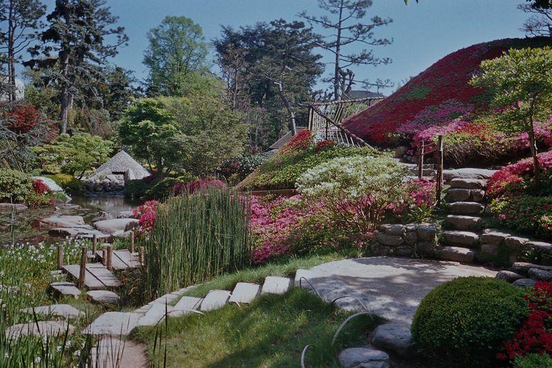 Au jardin albert kahn boulogne billancourt roland dans for Le jardin kahn