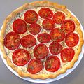 Tarte tomate et moutarde a l'ancienne