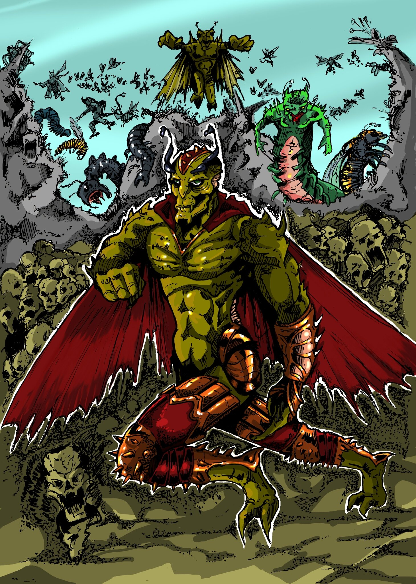 nouvelle colorisation comics annihilus