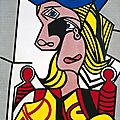 Christie's to offer a Pop Art masterpiece: Roy Lichtenstein's Woman with Flowered Hat 