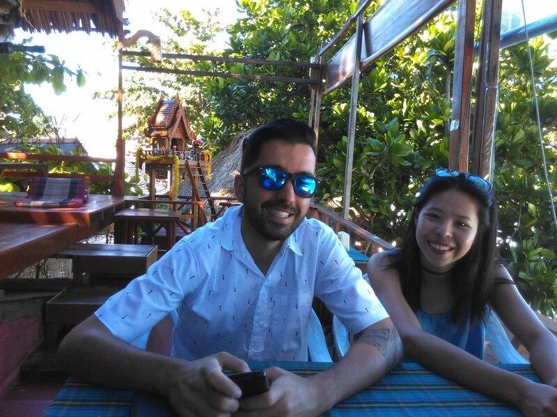 Guillaume et Ning à Koh Lipe