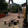 Location de bois flotté pour un évènement