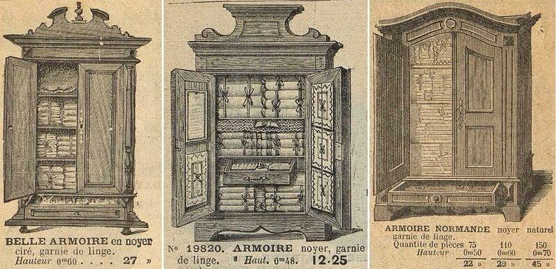 catalogues armoires