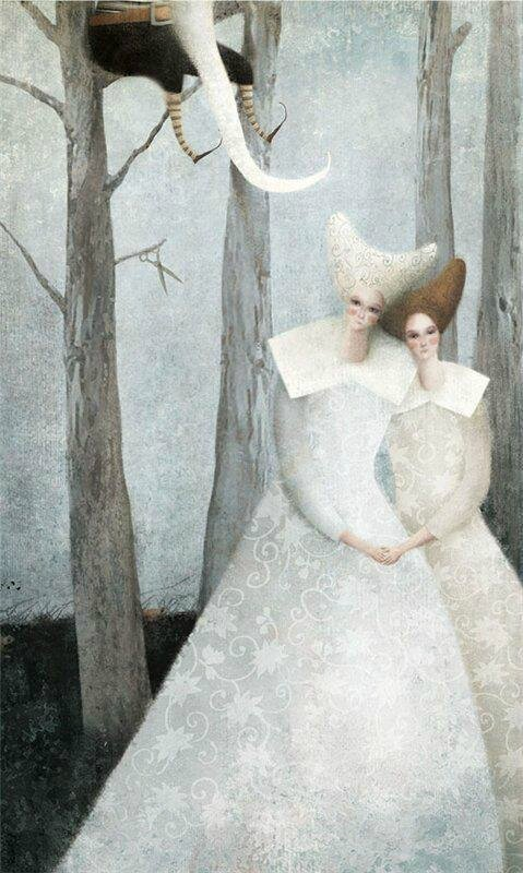 Gabriel Pacheco 1973 - Mexican Surrealist Visionary painter - Tutt'Art@ (4)